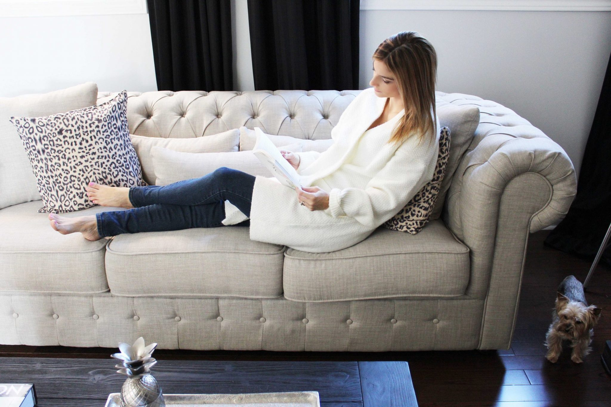 Decorating My Living Room With Wayfair Canada