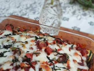 Recipe for Zucchini Pizza Lasagna - 3 Things that go perfect together. This was so good we look forward to making it a regular at our house!