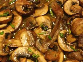 Healthy Grilled Mushrooms - So easy to make, and they are beyond tasty. Good luck getting them to the table, they just might disappear before making it that far!