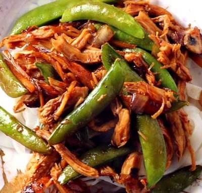 Thai Drunken Noodles  (Pad Kee Mow)