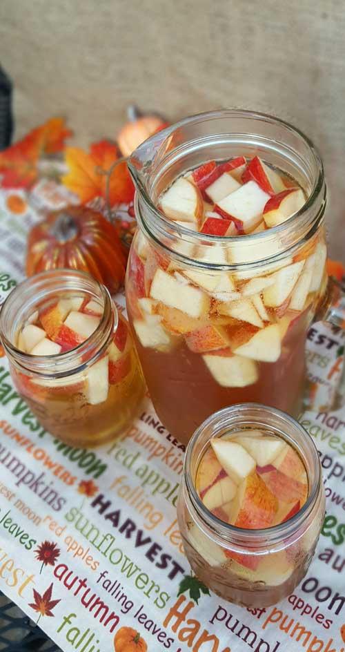 Autumn Hard Apple Cider Sangria