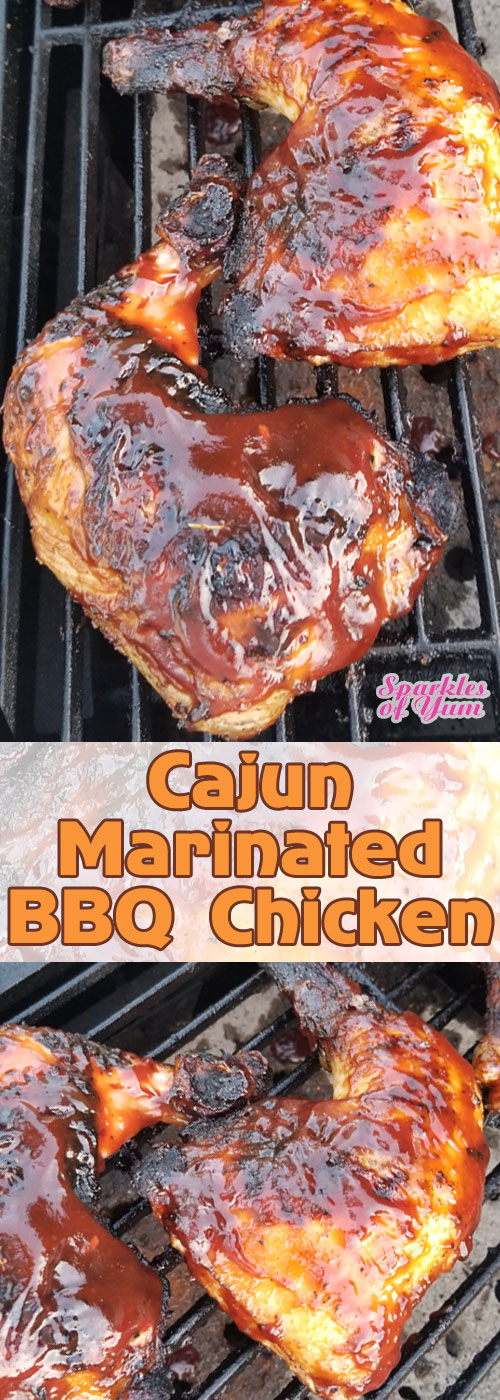Cajun Marinated BBQ Chicken - An all-time favorite and the very definition of \