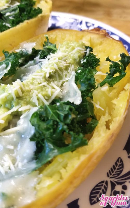Low carb and low calorie. You can't go wrong with this nutrient packed Spaghetti Squash. It turned out so good and it was so simple, I think you'll love it too!
