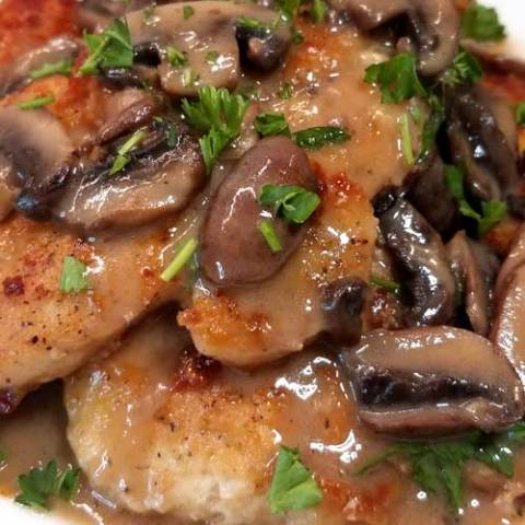 Chicken Marsala is oh so easy and delicious, complete with a silky rich wine sauce that you do not need chef skills to prepare. It's no wonder that it is a family favorite