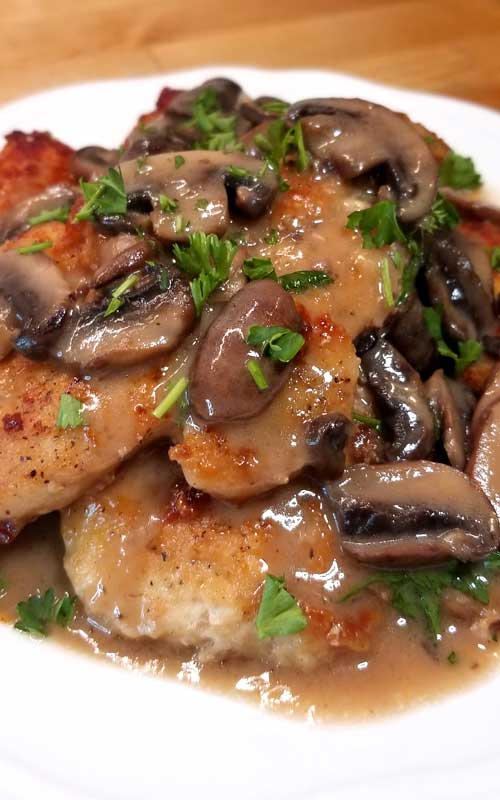 Chicken Marsala Recipe - Chicken Marsala is oh so easy and delicious, complete with a silky rich wine sauce that you do not need chef skills to prepare. It's no wonder that it is a family favorite.
