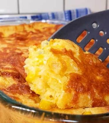 Sweet Creamed Corn Casserole