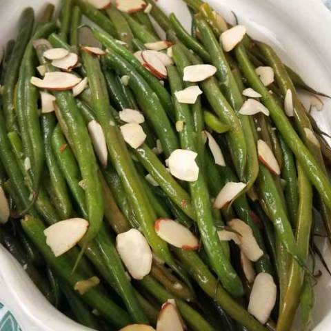 French Green Beans with Almonds