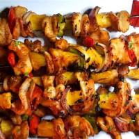 Hawaiian Shrimp Kabobs