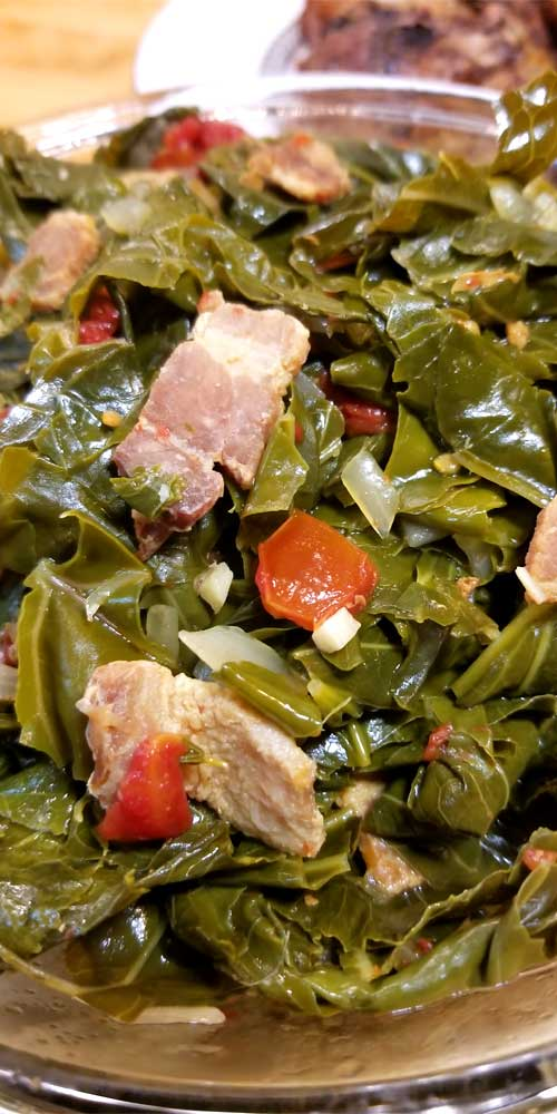 If you like greens, you're gonna LOVE this recipe for Jamaican Style Greens. Absolutely delicious, and will definitely be a staple in our household!