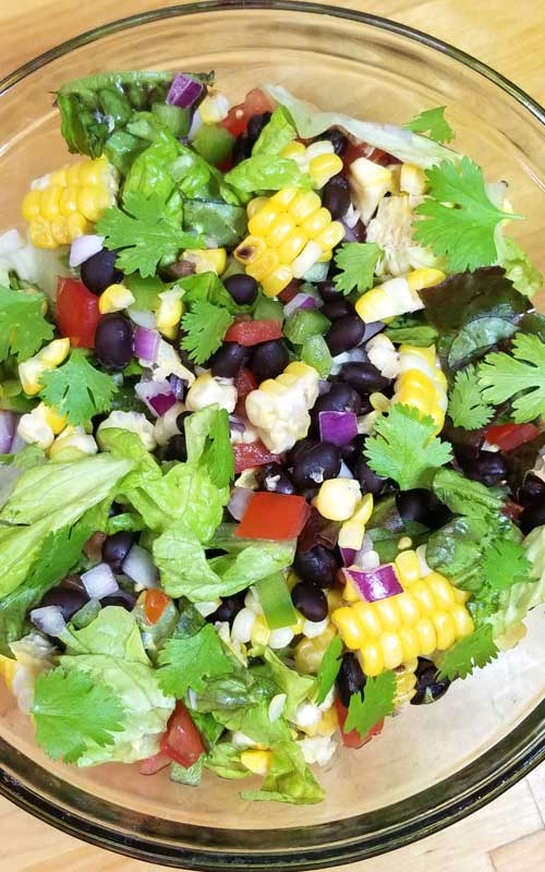 Farm fresh sweet corn is the star of this Southwest Corn Salad with Honey Lime Dressing. It has so much flavor and crunchy goodness from all the veggies plus it super nutritious!