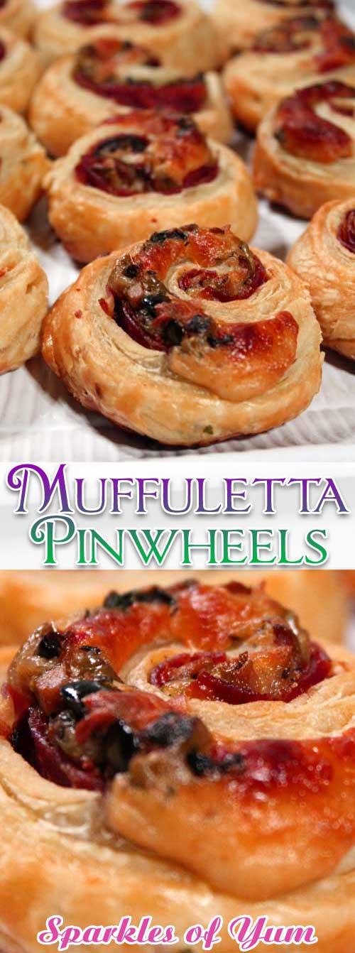 Muffuletta Pinwheels