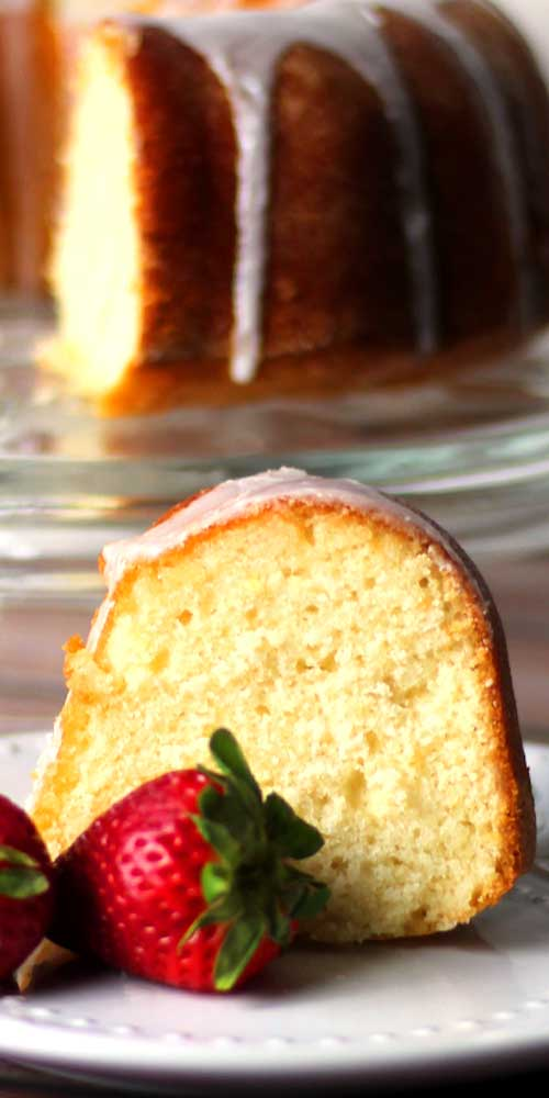 This Lemon Pound Cake is a Lemon lover's delight! It is the most lemony, deliciousness, moist cake I've ever had.