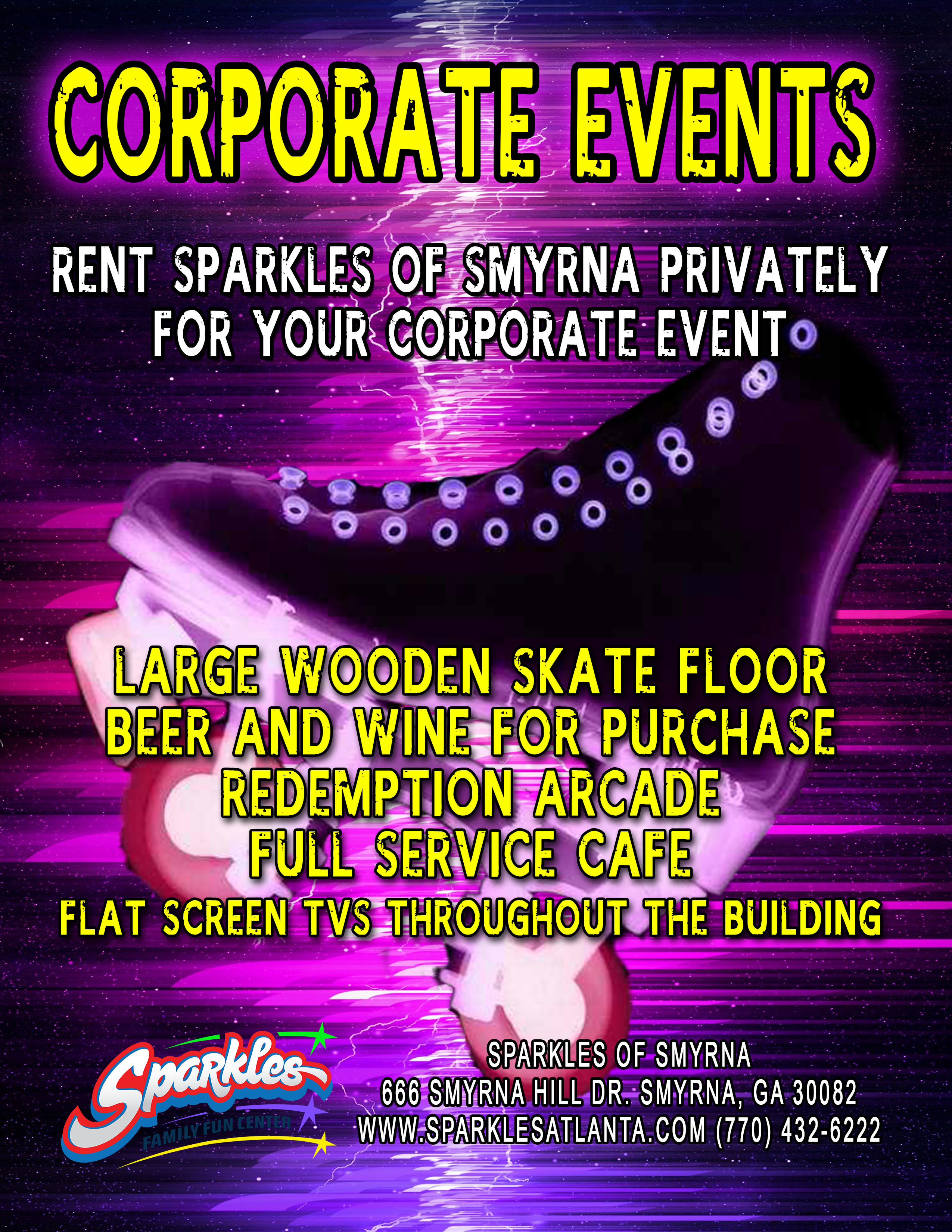 Corporate Event Flyer