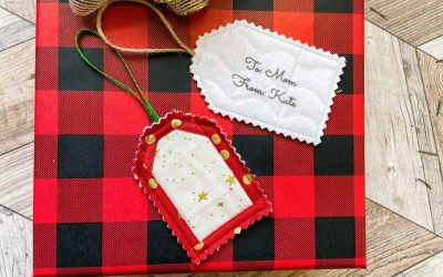 How To: Make Quilted Gift Tags