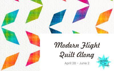 Modern Flight Quilt Along