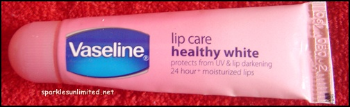 Vaseline Lip Care Healthy White Review (Fresh Vanilla