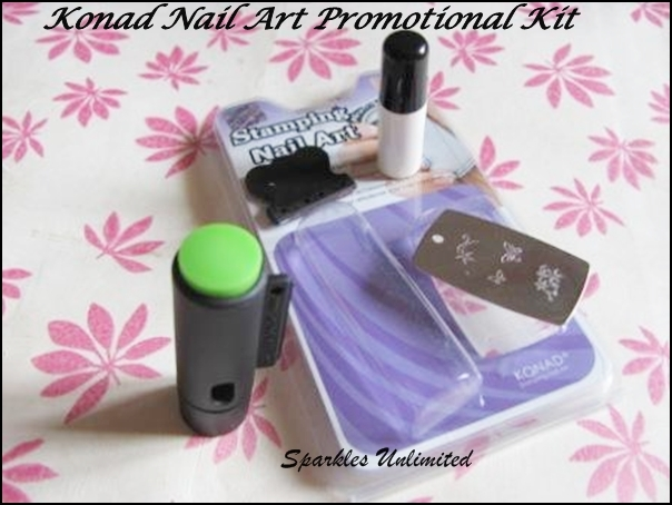 Konad Nail Art Kit Promotional Kit Review Sparkles Unlimited