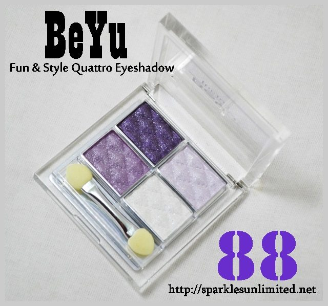 BeYu Fun & Style Quattro Eyeshadow 88, BeYu Fun & Style Quattro Eyeshadow 88 Review,BeYu Fun & Style Quattro Eyeshadow 88 Swatches,BeYu Fun & Style Quattro Eyeshadow,BeYu Fun & Style Quattro Eyeshadow Reviews,BeYu Fun & Style Quattro Eyeshadow Swatches, BeYu Cosmetics, BeYu Coametics India