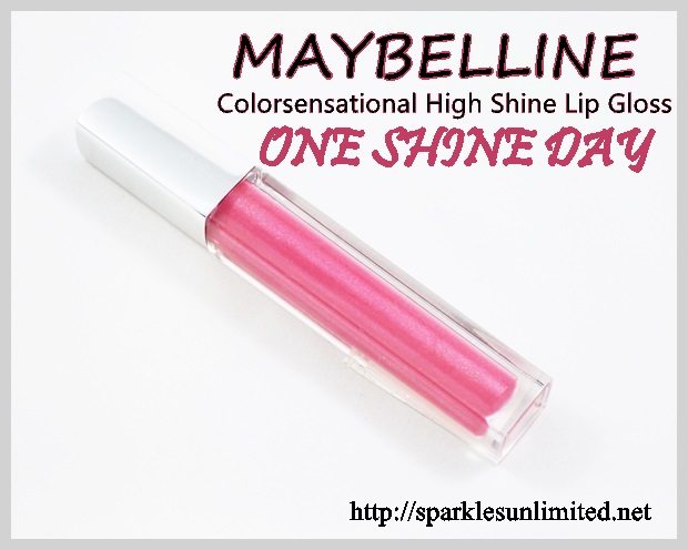 Maybelline Colorsensational High Shine Lip Gloss 30 ONE SHINE DAY , Maybelline Colorsensational High Shine Lip Gloss 30 ONE SHINE DAY  Review,Maybelline Colorsensational High Shine Lip Gloss 30 ONE SHINE DAY  Swatches,Maybelline Colorsensational High Shine Lip Gloss ,Maybelline Colorsensational High Shine Lip Gloss Review,Maybelline Colorsensational High Shine Lip Gloss Swatches, Maybelline, Maybelline Cosmetics, Maybelline India