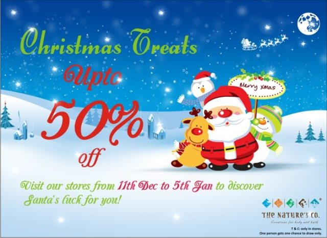 The Nature's Co. Christmas Offer WEB
