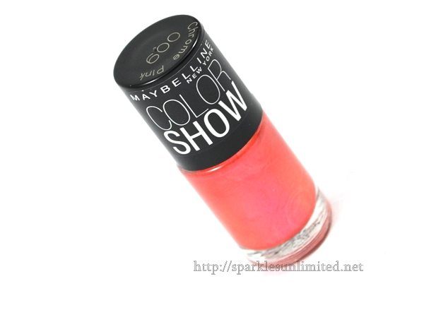 Maybelline Color Show Nail Enamel 009 CHROME PINK,Maybelline Color Show Nail Enamel 009 CHROME PINK Review,Maybelline Color Show Nail Enamel 009 CHROME PINK swatches,Maybelline Color Show Nail Enamel ,Maybelline Color Show Nail Enamel Review,Maybelline Color Show Nail Enamel Swatches, Maybelline India, Maybelline New York, Maybelline