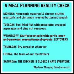 funny menu