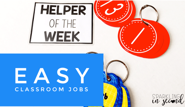 Classroom Jobs: The Easy Way