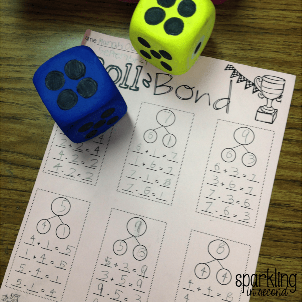 Decomposing Numbers In First Grade