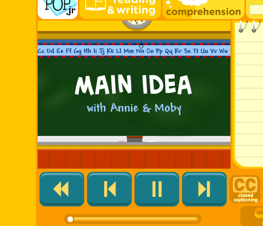 Teaching Comprehension: Main Idea
