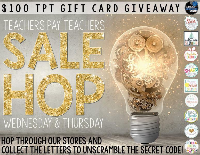 INSPIRED TpT Hop & Giveaway