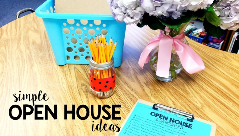 Simple Open House Activities