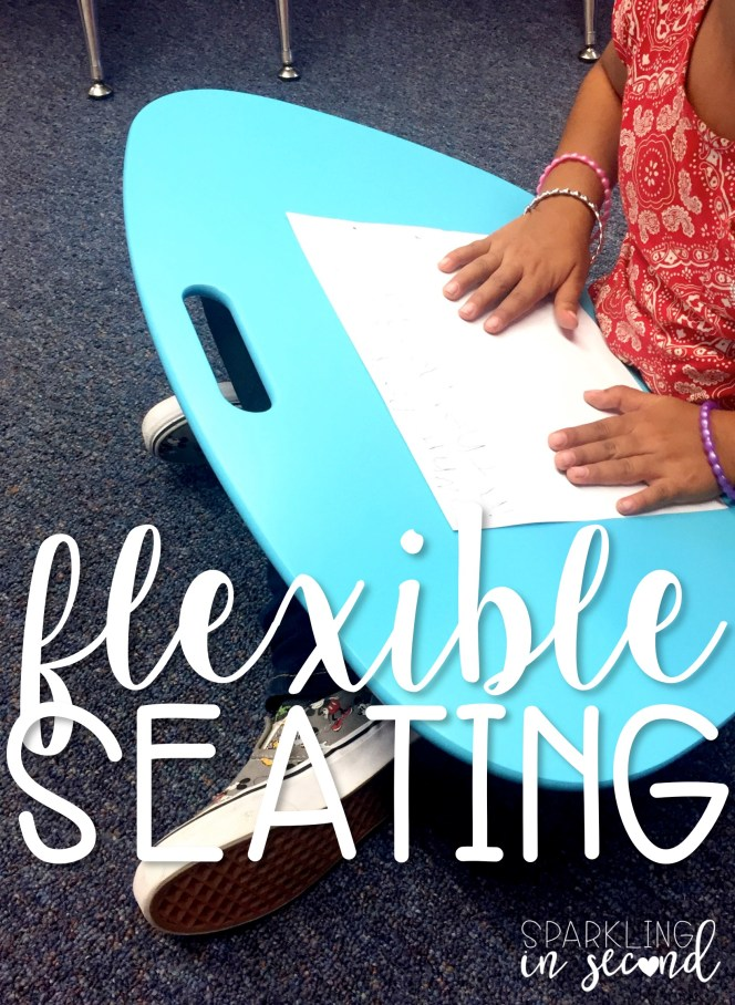 There are many flexible seating options out there, so pick what works best for your classroom! Here are some flexible seating options to start!
