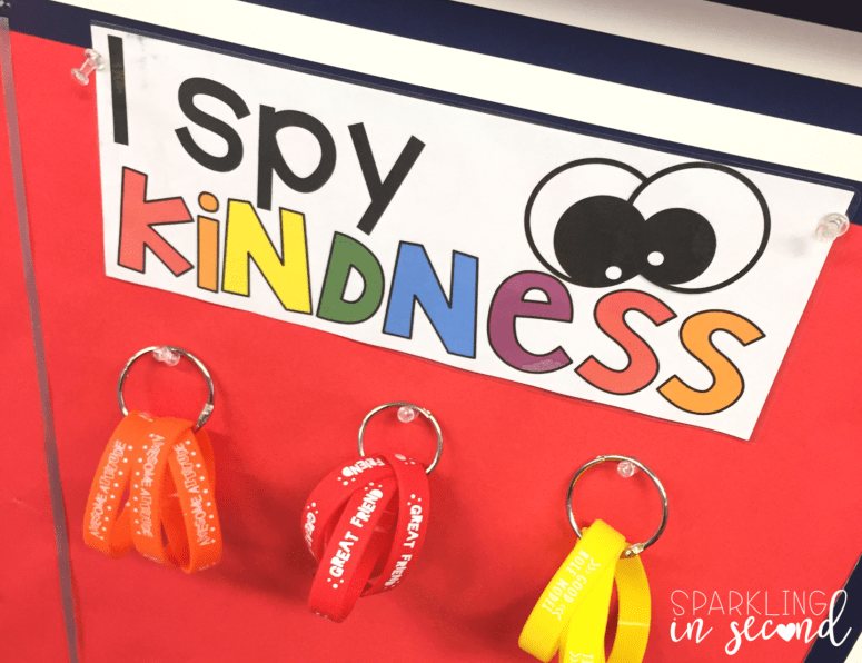 Classroom kindness is a central part of creating a positive classroom environment. Here is one way to promote kindness in the classroom!