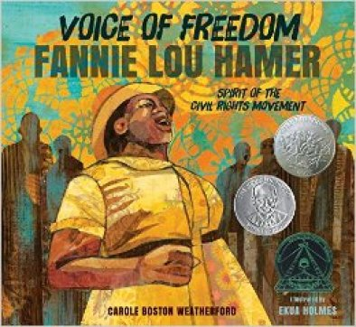 Celebrating Black History? Here are over 30 picture book titles celebrating the accomplishments of African Americans (Fannie Lou Hamer).