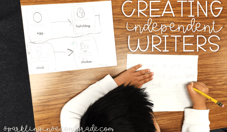 Creating Independent Writers in a Primary Classroom
