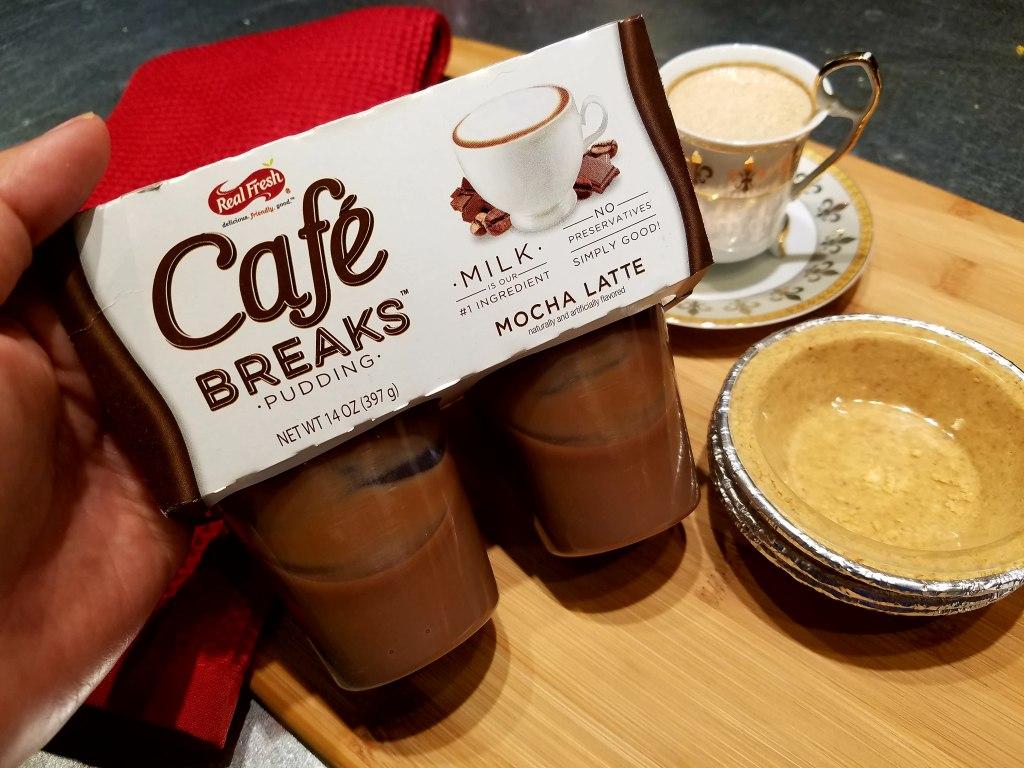 Cafe Breaks Mini Mocha Latte Pie