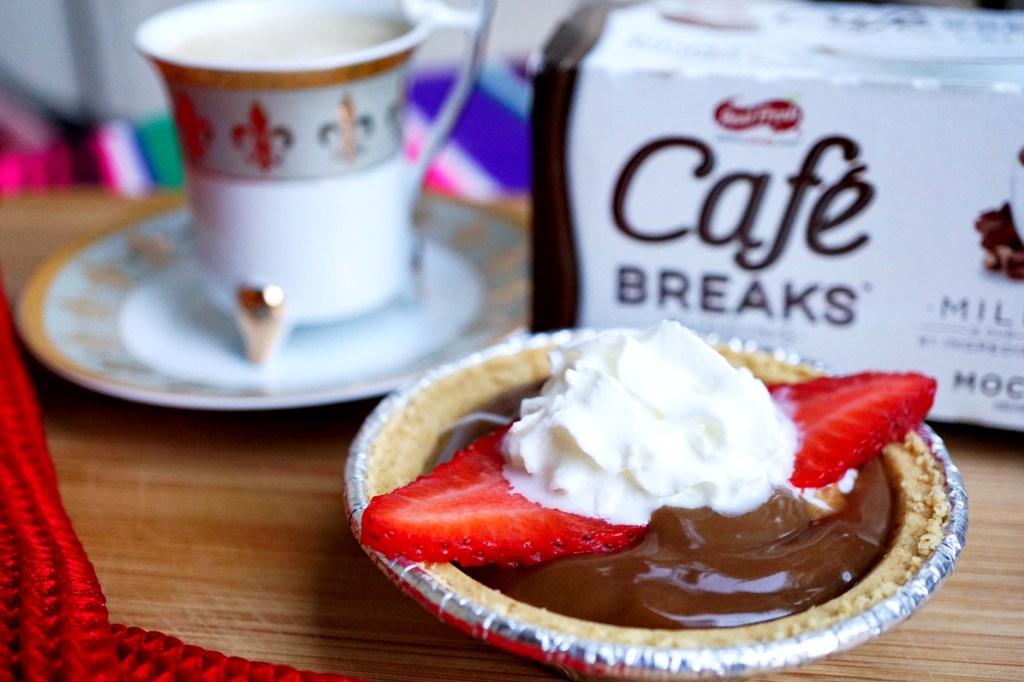 Cafe Breaks Mocha Latte Mini Pie Recipe