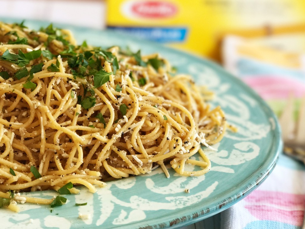 Mizithra Browned Butter with Barilla ProteinPLUS® Pasta