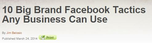 Big Brand Facebook