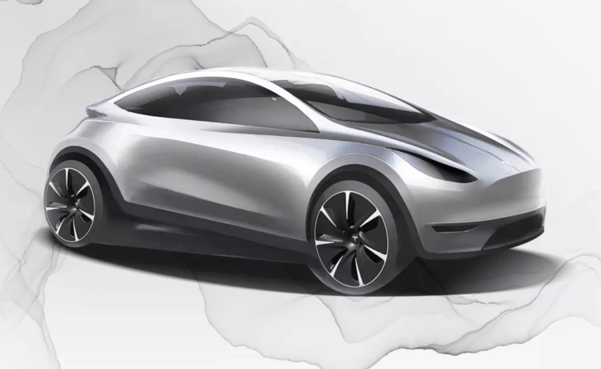 New Chinese Tesla design