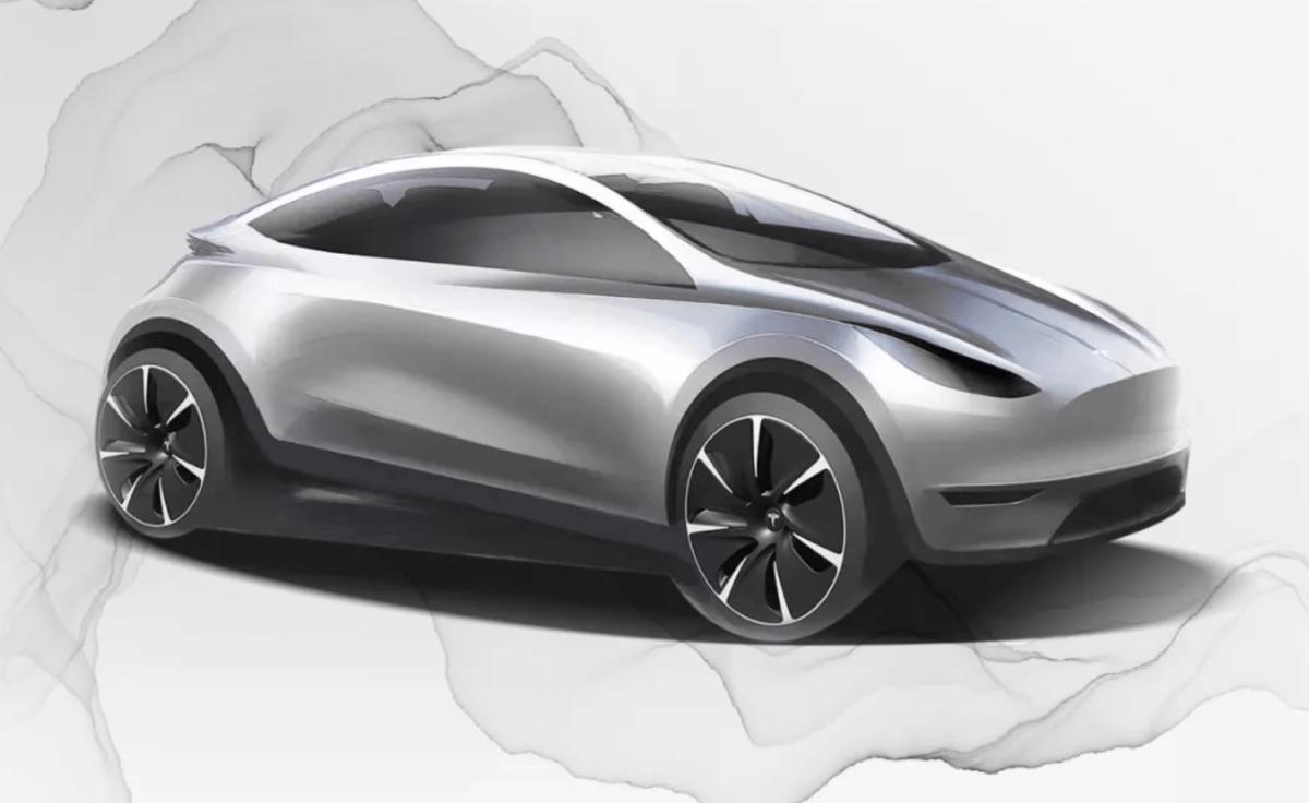 New Chinese Tesla design