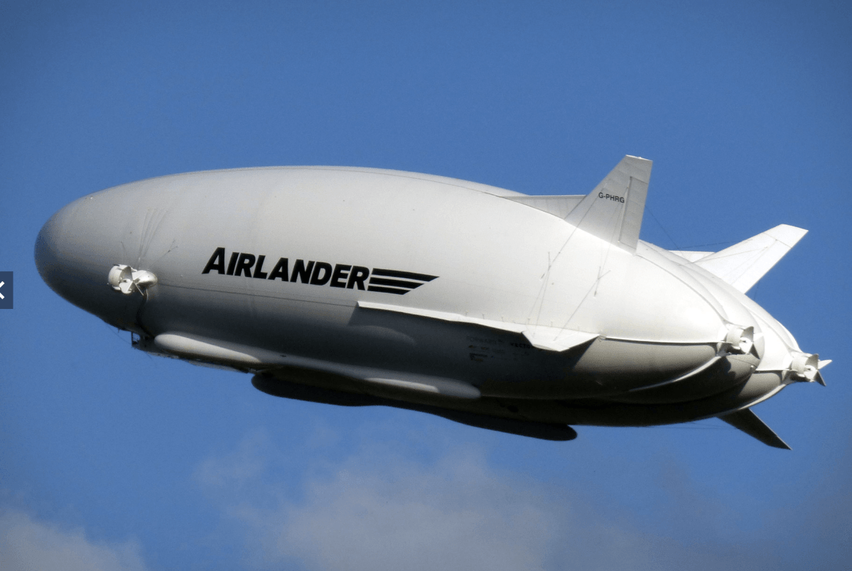 Airlander airship of awesomeness
