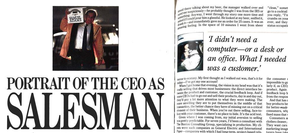 Portrait of the CEO as Salesman