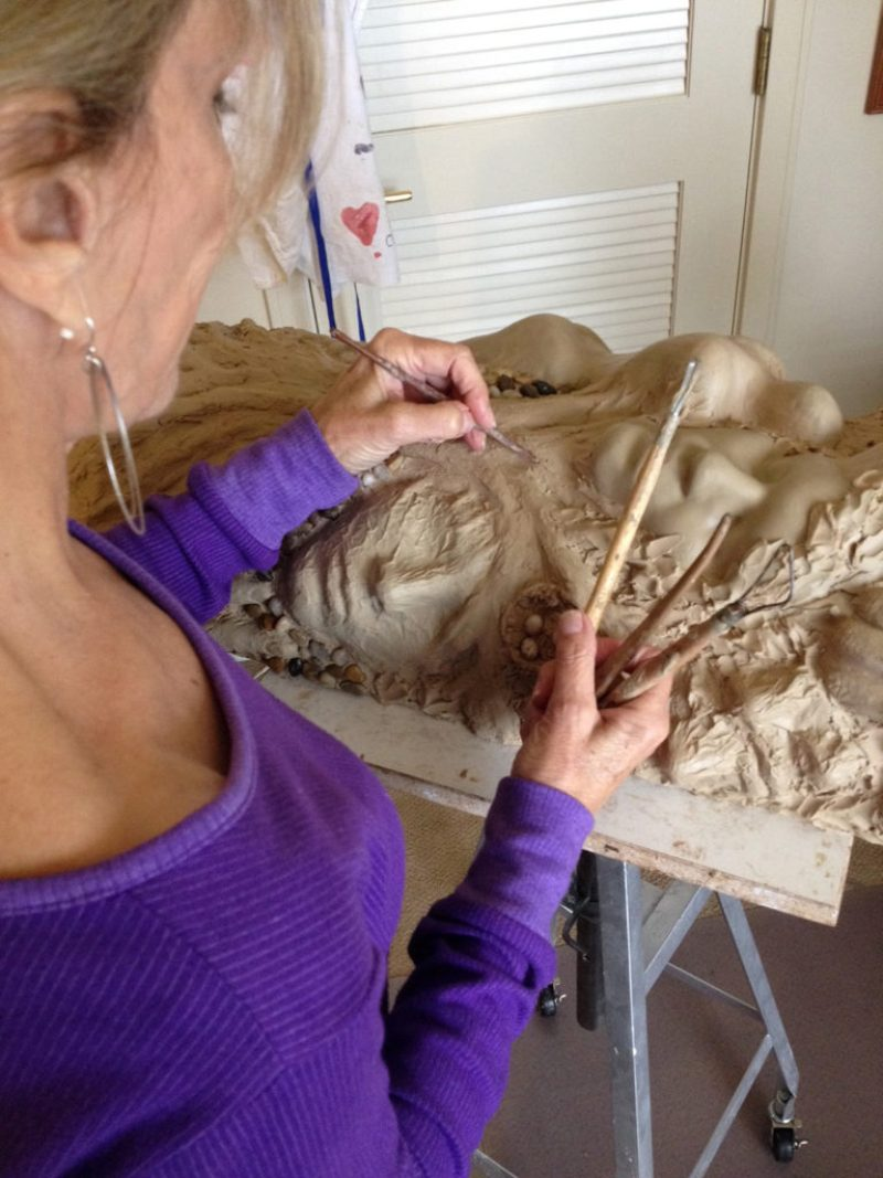 Maidy Morhous sculpting