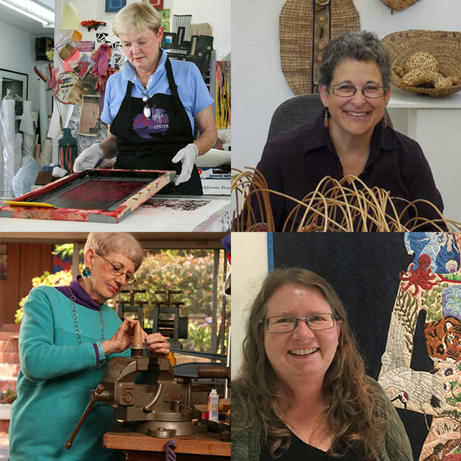 Allied Craftsmen: Modern Weaving Panel