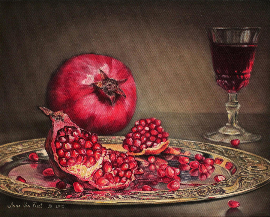 Anna Van Fleet Pomegranate