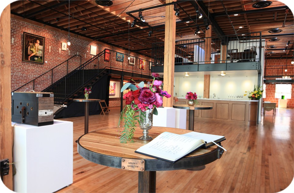 Sparks Gallery is a unique event venue in the Gaslamp Quarter