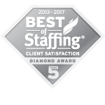 2017 Best of Staffing Client Diamond Award