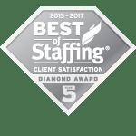 2017 Best of Staffing Client Diamond Award Winner