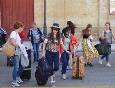 A school trip to Spain